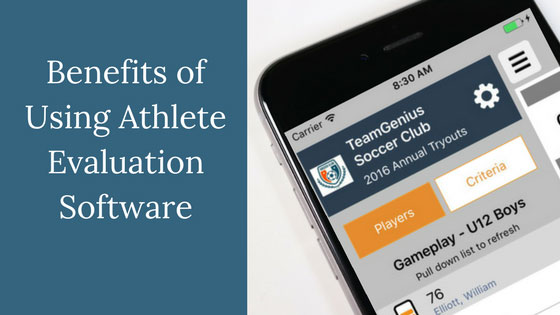 Benefits of Player Evaluation Software Title