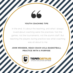 youth coaching tips: practice with a purpose