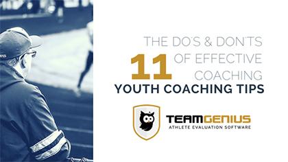 youth coaching tips