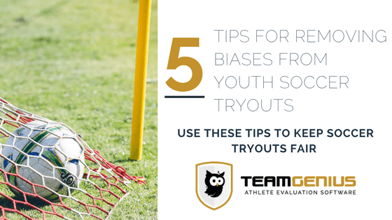 Removing Bias from Youth Soccer Tryouts