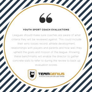 Youth Sport Coach Evaluations Quote