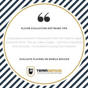 evaluate players on mobile devices