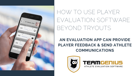 Player Evaluation Software