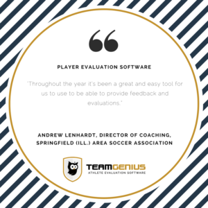 player evaluation software easy feedback tool