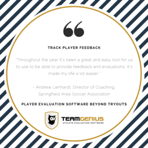 Track Players - Player evaluation Software