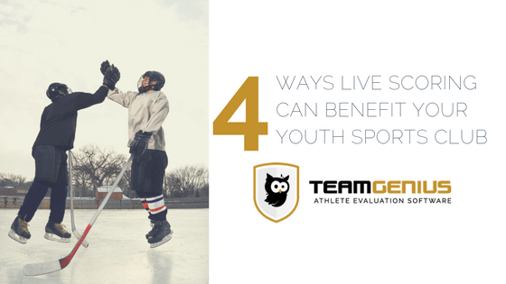 Live Scoring Youth Sports Club Benefits