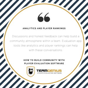 Player Evaluation Building Community