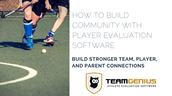 Building Sports Community with Player Evaluation