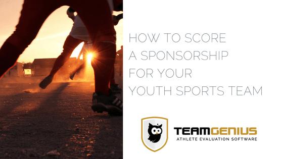 Youth sports Sponsorship