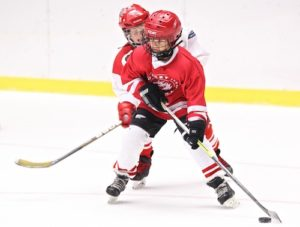 youth hockey tryouts shooting drills