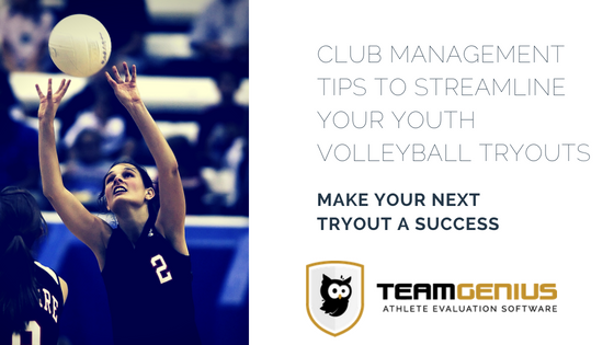 Tips to Streamline Youth Volleyball Tryouts