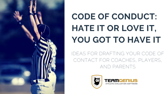 Code of Conduct for Youth Sports