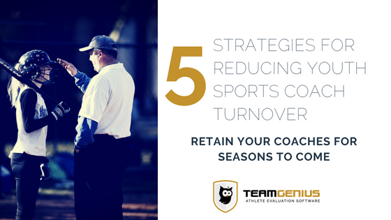 Youth Sports Coach Turnover