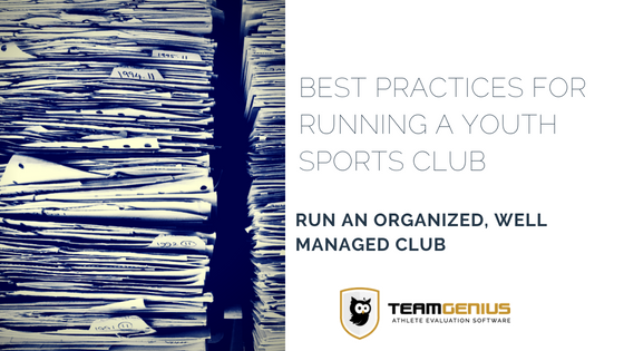 Best Practices for Running a Youth Sports Club