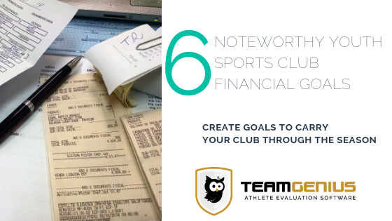 Youth Sports Financial Goals