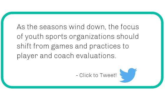 Youth Sports Player and Coach Evaluations