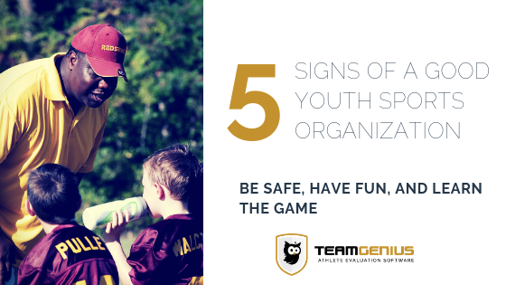 Good Youth Sports Organization encourage kids to learn over winning