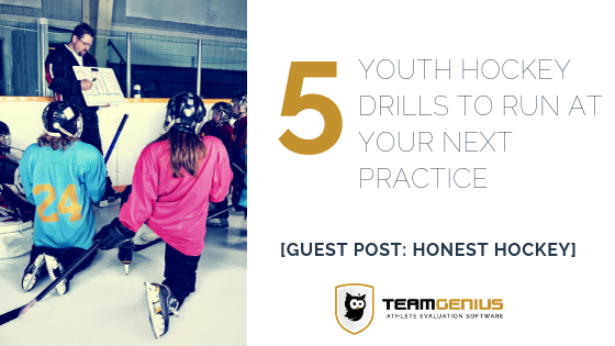 Youth Hockey Drills to Run at Your Next Practice