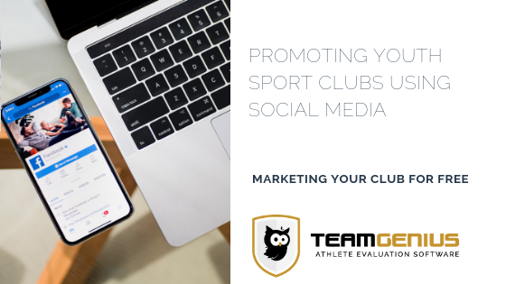 Market your youth sports clubs using social media