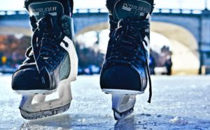 Youth hockey drills for practice