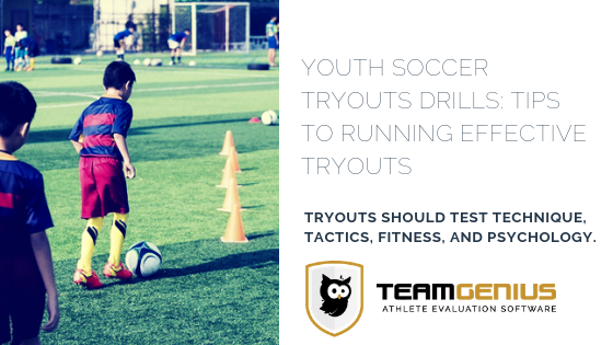 Youth Soccer Tryouts Drills