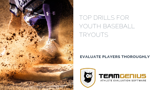 Top Drills for Youth Baseball Tryouts