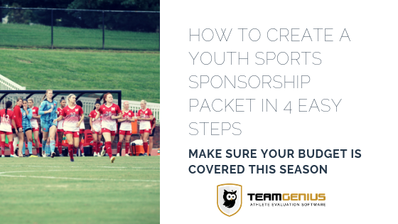 Youth Sports Sponsorship Packets
