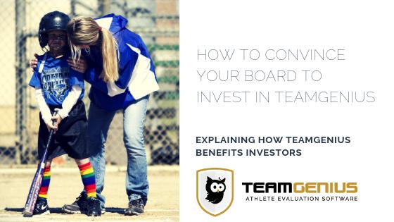 TeamGenius benefits to board members