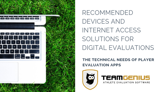 tech for digital player evaluations