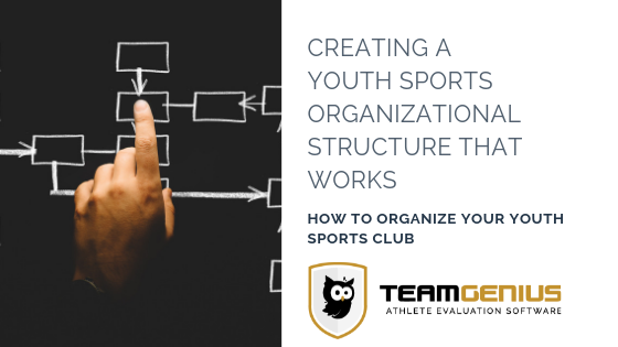Creating a Youth Sports Organizational Structure