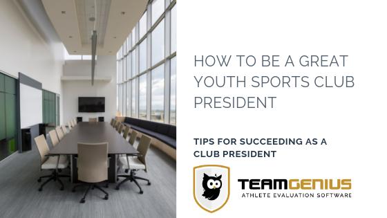 Youth Sports Club President