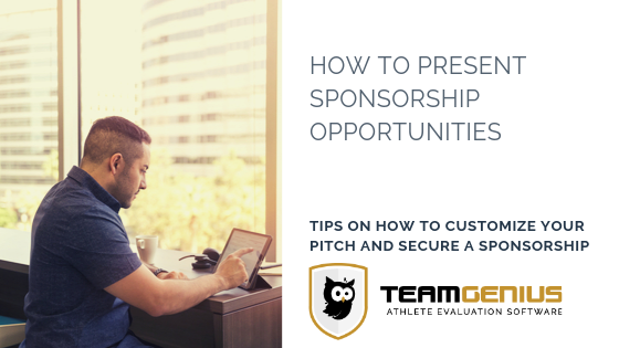 How to Present Sponsorship Opportunities
