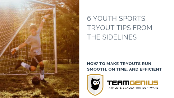 tryout tips