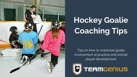 hockey goalie coaching tips