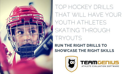 hockey tryout drills