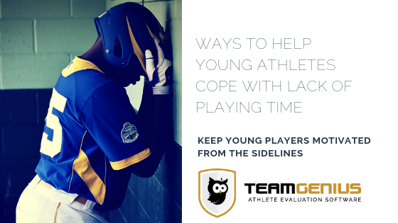 cope with lack of playing time