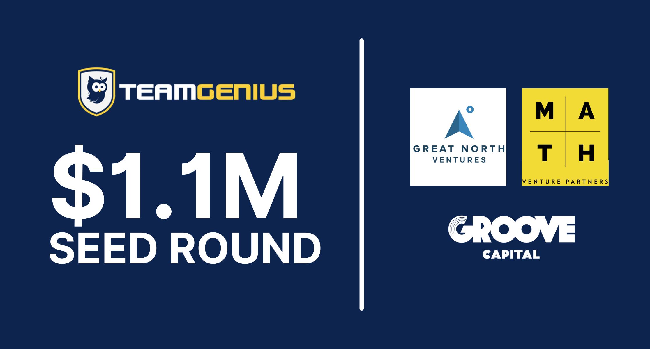 TeamGenius Seed Round Press Release